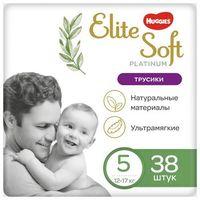 Трусики Huggies Elite Soft Platinum 5 (12-17 кг) 38 шт