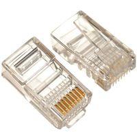 Modular Plug LC-8P8C-001, RJ-45 Cat.5E 100pcs/bag