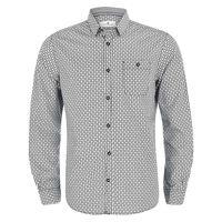 Рубашка TOM TAILOR Черный/Серый 1024324 25580