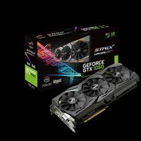 ASUS ROG-STRIX-GTX1060-A6G-GAMING, GeForce GTX 1060 6Gb GDDR5, 192-bit