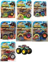 Nașină Monster Truck 1:64 Hot Wheels, cod FYJ44