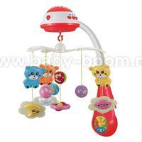 Baby Mix PL-408930 RED Музыкальная карусель
