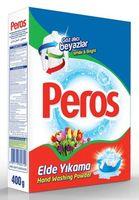 Стиральный порошок для ручной и полуавтоматической стирки PEROS 400гр. White & Bright