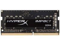.8 ГБ DDR4-2666MHz SODIMM Kingston HyperX IMPACT (HX426S15IB2 / 8), CL15-17-17, 1,2 В, Intel XMP, черный