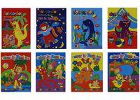 купить Книга-раскраска 8листов в Кишинёве