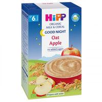 Hipp каша Спокойной ночи овсяная c молоком и яблоком, 6+мес. 250г