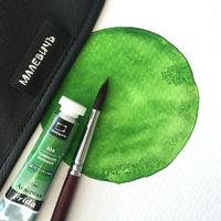 Акварель Малевичъ Frida, травяная зеленая, 12 мл