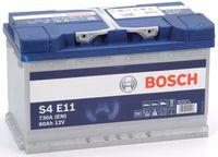 Аккумулятор Bosch 80AH S4E11 EFB(AGM-)