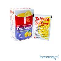 TaiCold cu aroma de lamaie pulb./sol. orala 500 mg/2 mg/30 mg  N10