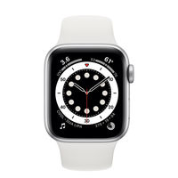 Apple Watch 6 40mm (MG283), Silver / White