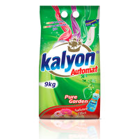 KALYON Порошок для стирки 9кг для машин-автоматов White&Colour Pure Garden