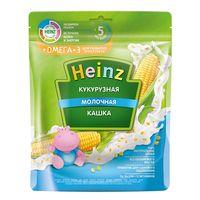 Heinz каша кукурузная молочная Omega 3, 5+мес. 200г
