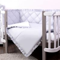Veres Комплект для кроватки Macaroon Earl grey, 6 штк