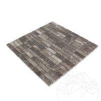 Мозаика Мрамор Темный Император Полированный 4.8 x 1.5 см