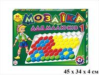 Технок-Интелком Мозаика для малышей №1 80 элементов