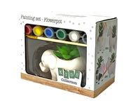 Set creativ de colorat Animal cu floare