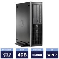 Настольный компьютер HP Compaq 8200 Elite SFF (Intel Core i3-2100 | 4 GB | 250GB | Windows 7)