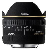 Prime Lens Sigma AF  15mm f/2.8 EX DG DIAGONAL FISHEYE F/Nik