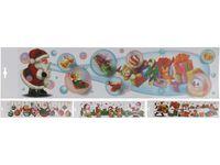 купить Наклейки новогодние на окна 64X15cm в Кишинёве