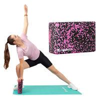 Блок для йоги пробковый 23x15x8 см EPP inSPORTline Pinkdot 21698 (5561)