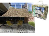 Cort-baldachin 3X3m de camuflare, culoarea nisipului