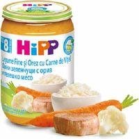 Hipp пюре телятина и овощи,  8+мес.  220г