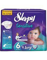 Sleepy Подгузники для детей Sensitive 6, 16+ kg, 28шт.