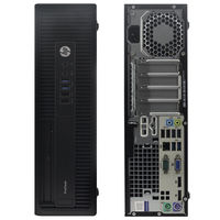 HP 600 G2 SFF, CPU i5 6500 (QuadCore 3,2 up to 3,6 Ghz), 8GB DDR4 , SSD120Gb + HDD 500GB, DVD, Win 10 Home