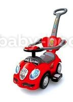 Baby Mix  UR-HZ558 Машина музыкальная  красная