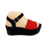 Sandale Dame (36-40) rosu-negru /8