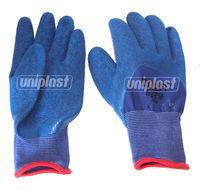купить Перчатки резиновые арт.U379 (синие)   (M/8) в Кишинёве
