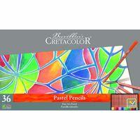 Set de creioane pastelate, 36 de culori FINE ART PASTEL Cretacolor