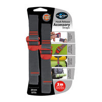Ремень для фиксации Sea To Summit Accessory Strap With Hook Release 20 mm, 2.0 m, ATDASH202.0