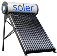 SOLER солнечный водонагревательколлекторы  150л