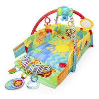 BRIGHT STARS 5 in 1 Sunny Safari Baby's Play Place,