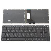 Keyboard Acer Aspire A515-51 A315-31 A315-51, w/o frame ENG/RU Black