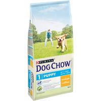 DOG CHOW Puppy 1kg (для щенков до 1 года, для взрослых собак мелких пород и собак в период беременности и вскармливания)