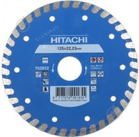 Диск алмазный d125x22,2x6 TURBO FLAT HITACHI-HIKOKI