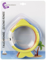 Inele set pentru scufundări Beco Fish (96133)