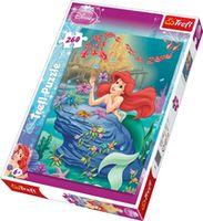 """cumpără 13072 Trefl Puzzles - """"260"""" - The little Mermaid / Disney Princess în Chișinău"""