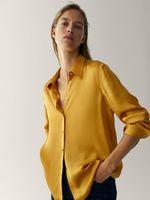 Блуза Massimo Dutti Желтый 5145/690/305