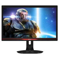 """27.0"""" Philips """"272G5DJEB"""", Black (1920x1080, 1ms/144Hz, 300cd, LED80M:1, DP,DVI-DL,HDMI, HAS/Pivot) (27.0"""" TN LED, 1920x1080 Full-HD, 0.311mm, 1ms (GTG), 300 cd/m², DCR 80 Mln:1 (1000:1), 170°/160° @C/R>10, 30-160KHz (H) / 50-146Hz (V), D-sub + DVI-DL + HDMI + HDMI-MHL + DisplayPort1.2, HDMI Audio-In, Headphone-Out, USB 3.0 x4-Hub, Smart KeyPad, Built-in PSU, HAS 150mm, Tilt: -5°/+20°, Swivel +/-65°, Pivot, VESA Mount 100x100, Black-Red)"""