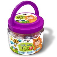 GAMMA Тесто для лепки ГАММА Малыш 15цв, 375гр формочки ведерка