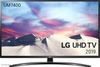 TV  LED LG 55UM7450PLA, Black