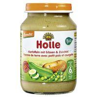 Piure de cartofi, mazăre și dovlecel Holle (6 luni+), 190g