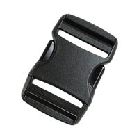 Пряжка фастекс Tatonka SR-Buckle 38 mm Dual, black, 3375.040