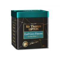 Sir Thomas Lipton Earl Grey Finesse чай черный ароматизированный, 100 г.