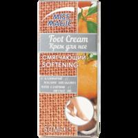 Cremă pentru picioare, SOLVEX Miss Magic, 50 ml., SOFTENING - înmuiere, cu camfor și ulei de portocală