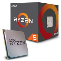 AMD Ryzen 5 1600 3.2Ghz-3.6GHz Box