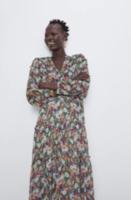 Платье ZARA Цветочный принт 8691/180/330